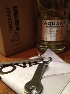 Allen keys and aquavit.